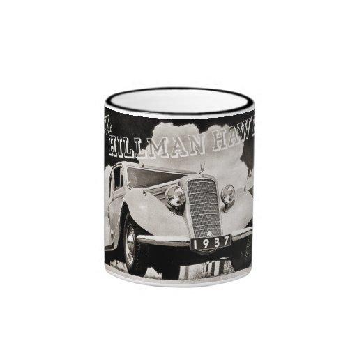 The Hillman Hawk 1937 Ringer Coffee Mug
