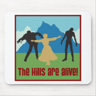 The Hills Are Alive! Mouse Mat