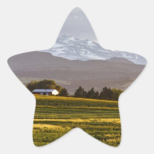The Hills Are Alive Star Sticker