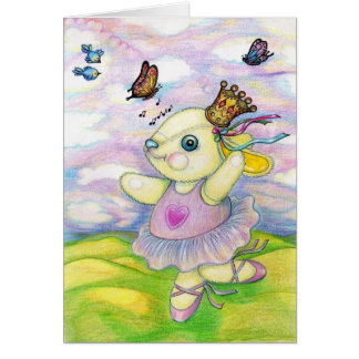 The Hills are Alive with the Sound of Pooky Stationery Note Card