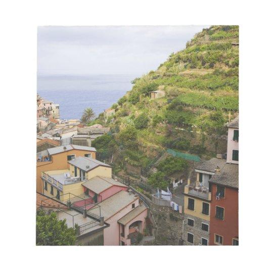the hillside village of Manarola-Cinque Terre, Notepad