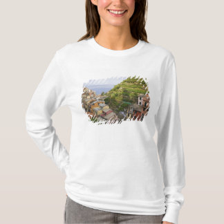 the hillside village of Manarola-Cinque Terre, T-Shirt