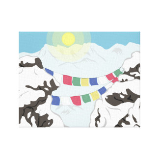 The Himalayas Canvas Print