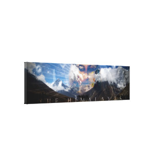 The Himalayas - Printed Canvas Gallery Wrapped Canvas