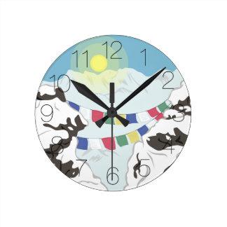 The Himalayas Round Clock