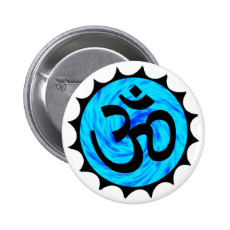 THE HINDU LIFE 2 INCH ROUND BUTTON