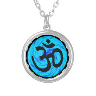 THE HINDU LIFE SILVER PLATED NECKLACE