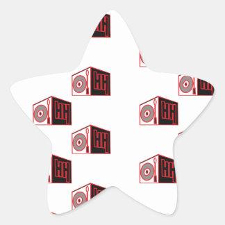 The HIP HOP logo 2 Sticker