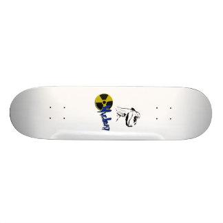 "The Hip Velociraptor 8"" skateboard deck"