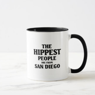 The hippest people are from San Diego Mug