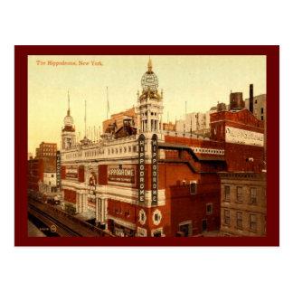 The Hippodrome, New York City Vintage Postcard