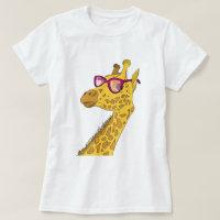 The Hipster Giraffe T-Shirt