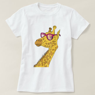 The Hipster Giraffe T-Shirt