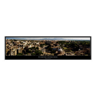 The Historic Centre of Rome Poster