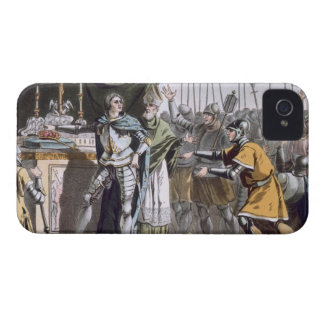 The Historic Day of Bouvines in 1214, engraved by iPhone 4 Cover
