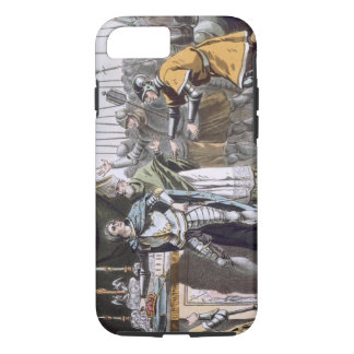 The Historic Day of Bouvines in 1214, engraved by iPhone 8/7 Case