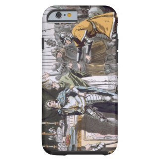 The Historic Day of Bouvines in 1214, engraved by Tough iPhone 6 Case