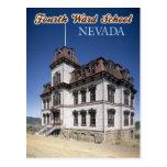The Historic Fourth Ward School Museum in Nevada Postcard