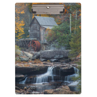 The Historic Grist Mill On Glade Creek 2 Clipboards