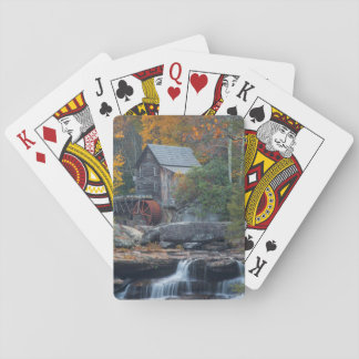 The Historic Grist Mill On Glade Creek 2 Deck Of Cards