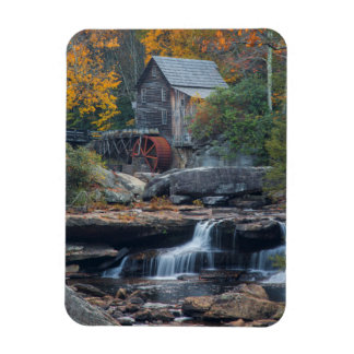 The Historic Grist Mill On Glade Creek 2 Magnet