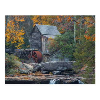 The Historic Grist Mill On Glade Creek 2 Postcard