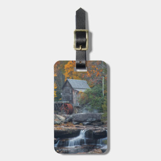 The Historic Grist Mill On Glade Creek 2 Tags For Luggage