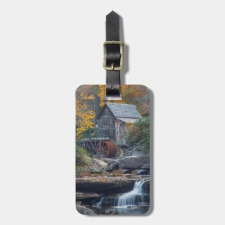 The Historic Grist Mill On Glade Creek Luggage Tag