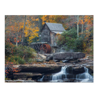 The Historic Grist Mill On Glade Creek Postcard