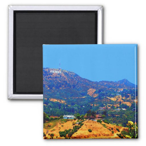 The Historic Hollywood Sign Fridge Magnets