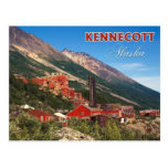 The Historic Kennecott Copper Mines, AK Post Cards
