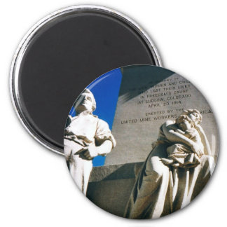 The Historic Ludlow Massacre of April 20, 1914 2 Inch Round Magnet