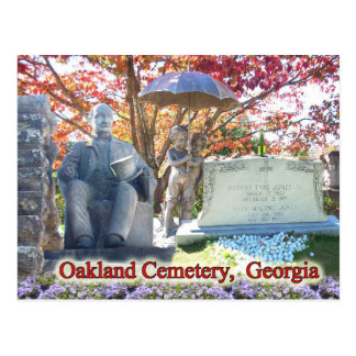 The Historic Oakland Cemetery Atlanta GA Postcards