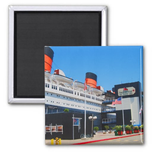 The Historic Queen Mary Fridge Magnet