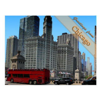The Historic Wrigley Building Post Cards