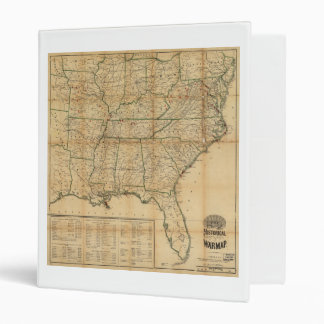 The Historical Civil War Map (1862) Binder