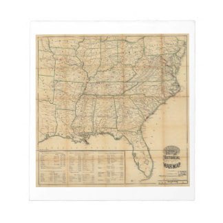 The Historical Civil War Map (1862) Notepad