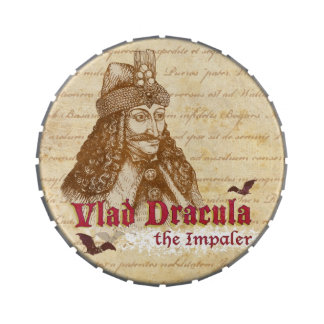 The historical Count Dracula Candy Tin