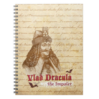 The historical Count Dracula Notebook