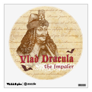 The historical Count Dracula Wall Sticker