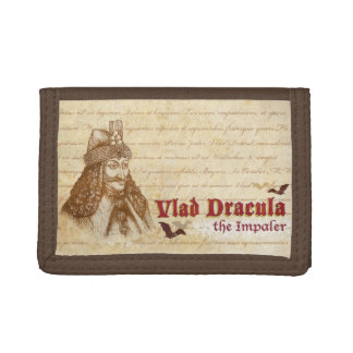 The historical Count Dracula Trifold Wallet