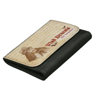 The historical Count Dracula Leather Wallet For Women
