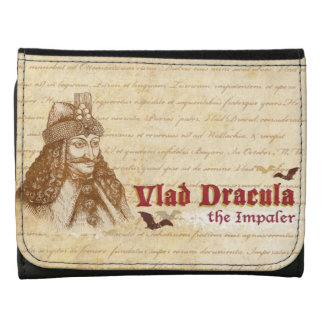 The historical Count Dracula Leather Wallets