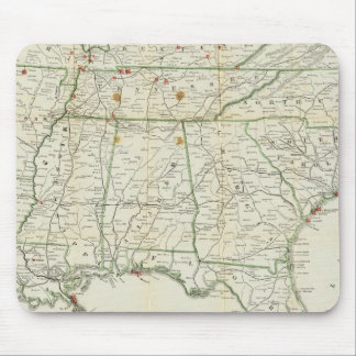 The Historical War Map Mouse Pad