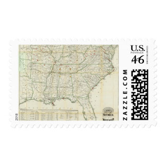 The Historical War Map Stamp