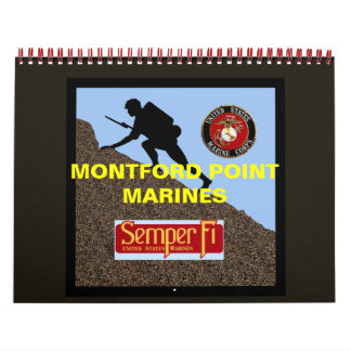 The history about the Marines of Montford Point Calendar