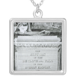 The History of Decline and Fall of  Roman Necklace