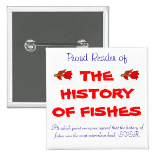 The History of Fishes Pin
