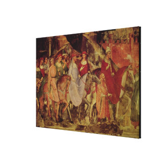 The History of Pope Alexander III Canvas Print