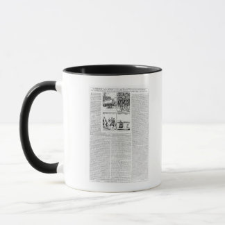 The history of the Battle of Worcester Mug